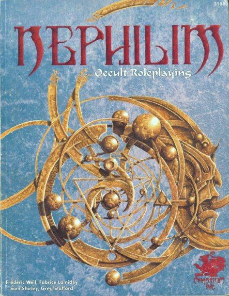 Reseña Nephilim, un juego de rol francés ocultista.